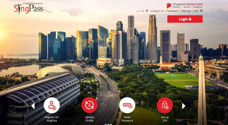 SingPass is needed when incorporating a company in Singapore.